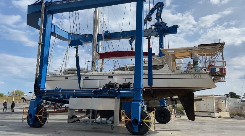 Entretien carénage coque bateau